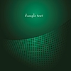 Vector clipart: green circles