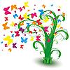 ID 3011246 | 잔디 싶게 나비 | 벡터 클립 아트 | CLIPARTO