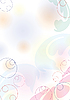 Abstract pastel background mit circles