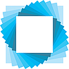 Vector clipart: square backdrop for photo
