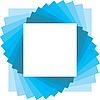 Векторный клипарт: квадратная рамка для фото