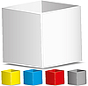Vector clipart: boxes