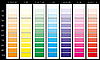color palette CMYK