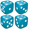 Vector clipart: dices