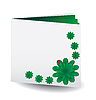Vector clipart: Green book
