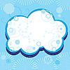 Vector clipart: cloud