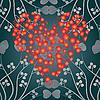 Vector clipart: heart background