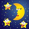 Векторный клипарт: мультяшная Луна