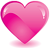 Pink heart | Stock Vector Graphics