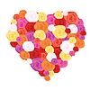 Vector clipart: rose heart
