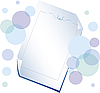 Vector clipart: Sheet of paper