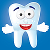 Vector clipart: Tooth cartoon
