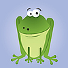 Cartoon Frosch