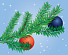 Vector clipart: fir branch