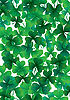 Vector clipart: Happy clover background