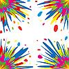 Vector clipart: Colorful splash