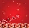 圣诞背景 | 向量插图
