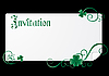 Vector clipart: Patrick invitation