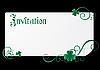 Vektor Cliparts: Patrick-Einladung