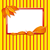 Vector clipart: Autumn frame