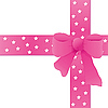 Vector clipart: Pink bow