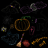 Vector clipart: Halloween set