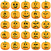 Vector clipart: Pumpkins