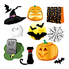 Halloween-Set | Stock Vektrografik