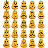 Vector clipart: pumpkin faces