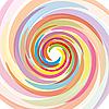 Векторный клипарт: Радужная спираль