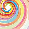 Vector clipart: Rainbow background
