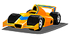Vector clipart: f1 car