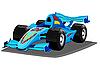 F1赛车 | 向量插图