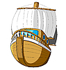 Vector clipart: ship