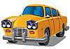 Vector clipart: elegant car
