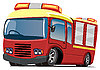 Vector clipart: fire engine