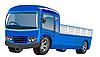 Vector clipart: light van