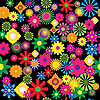 Vector clipart: Summer flowers