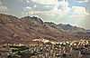 Village on the Middle East near mountains | Stock Foto