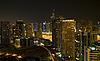 Town scape in the night. Dubai   Stock Foto