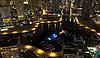 도시는 밤 풍경입니다. 두바이   Stock Foto