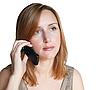 Mujer que llama | Foto de stock