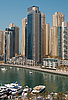 Photo 300 DPI: Town scape at summer. Dubai Marina