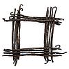 Vanilla-Rahmen | Stock Foto