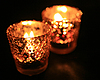 Photo 300 DPI: candle in dark room