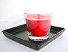 Red aromatycznych świec | Stock Foto