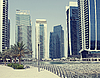 ID 3016514 | Town scape at summer. Panoramic scene in Dubai | High resolution stock photo | CLIPARTO