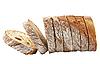 Fresh bread sliced   Stock Foto