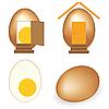 Photo 300 DPI: Eggs set