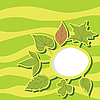 여름 잎 | Stock Illustration